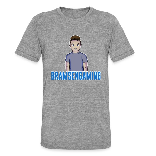 BramsenGaming 2017 - Unisex tri-blend T-shirt fra Bella + Canvas