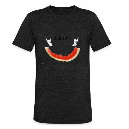 Post Melone - Unisex tri-blend T-skjorte fra Bella + Canvas