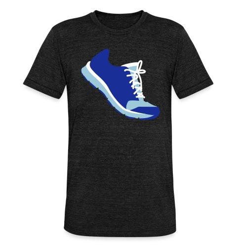 Laufschuh - Unisex Tri-Blend T-Shirt von Bella + Canvas