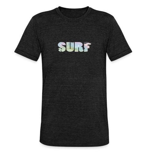 Surf summer beach T-shirt - Unisex Tri-Blend T-Shirt by Bella & Canvas
