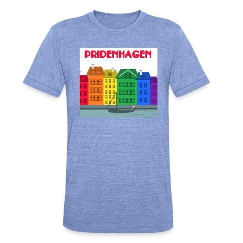 PRIDENHAGEN - Nyhavn - Unisex tri-blend T-shirt fra Bella + Canvas