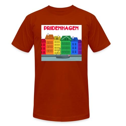 PRIDENHAGEN RETRO T-SHIRT - Unisex tri-blend T-shirt fra Bella + Canvas