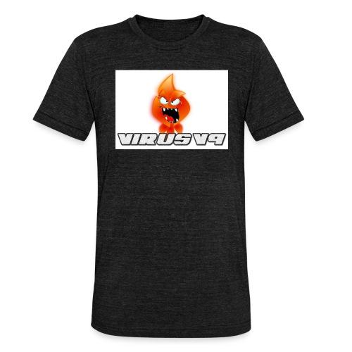 Virusv9 Weiss - Unisex Tri-Blend T-Shirt von Bella + Canvas