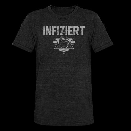 Infiziert2019 - Unisex Tri-Blend T-Shirt von Bella + Canvas