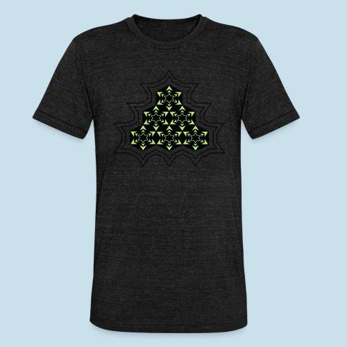 Stern - Unisex Tri-Blend T-Shirt von Bella + Canvas