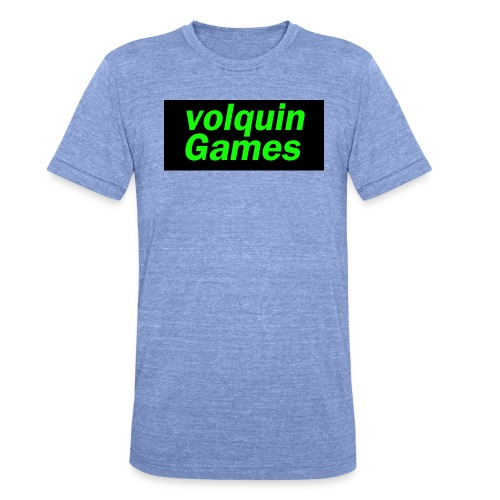 volquin - Unisex tri-blend T-shirt van Bella + Canvas