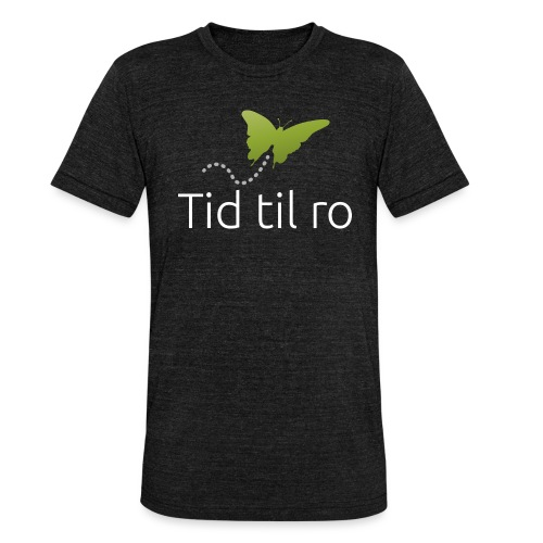 Tid til ro - Unisex tri-blend T-shirt fra Bella + Canvas