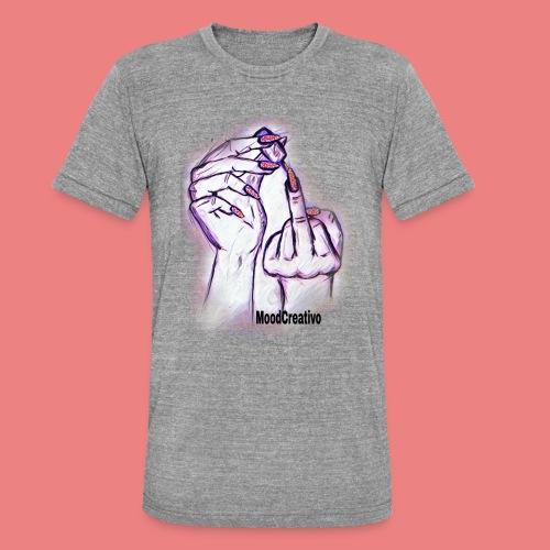 MoodCreativo - Maglietta unisex tri-blend di Bella + Canvas