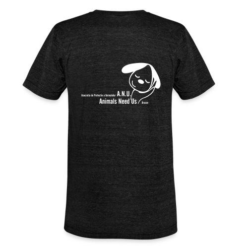 anu vector T - Unisex Tri-Blend T-Shirt von Bella + Canvas