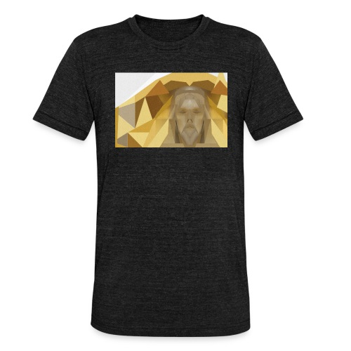 In awe of Jesus - Unisex Tri-Blend T-Shirt by Bella & Canvas
