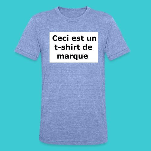 t-shirt2 - T-shirt chiné Bella + Canvas Unisexe