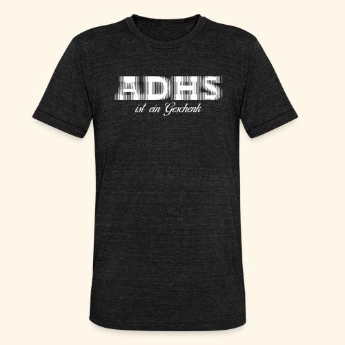 ADHS - Unisex Tri-Blend T-Shirt von Bella + Canvas