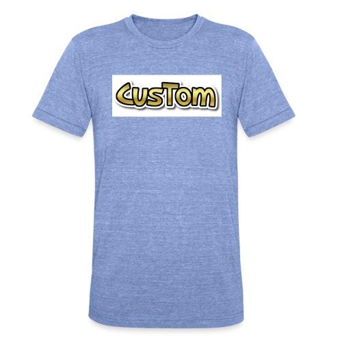 CusTom GOLD LIMETED EDITION - Unisex tri-blend T-shirt van Bella + Canvas