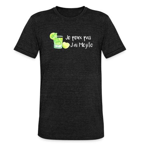 mojito - T-shirt chiné Bella + Canvas Unisexe
