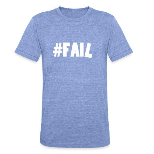 FAIL / White - T-shirt chiné Bella + Canvas Unisexe