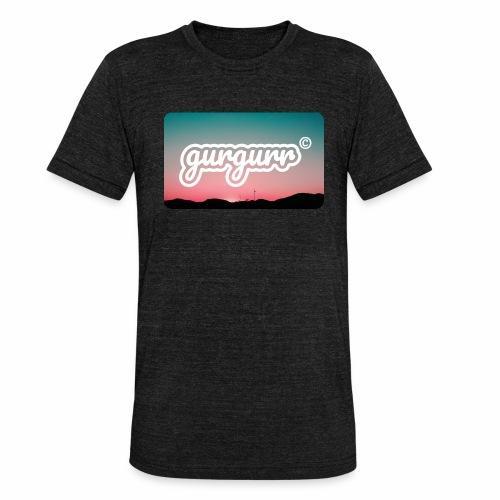 Kitschy Pigeon - Unisex Tri-Blend T-Shirt von Bella + Canvas