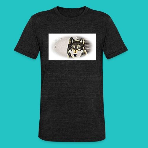 Bluza Wilk - Koszulka Bella + Canvas triblend – typu unisex