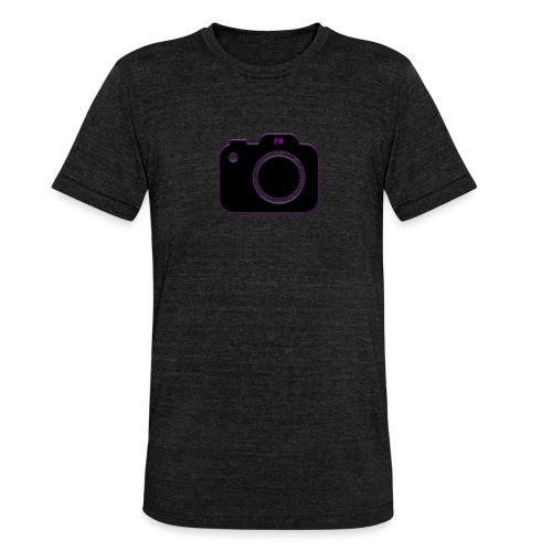 FM camera - Unisex Tri-Blend T-Shirt by Bella & Canvas
