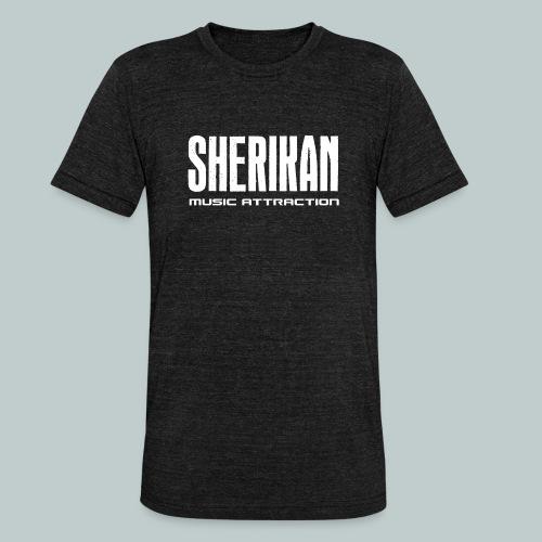 Sherikan logo - Triblend-T-shirt unisex från Bella + Canvas