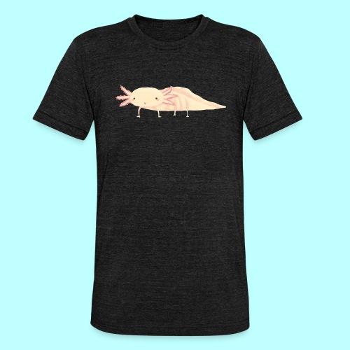 Axolotl - Unisex Tri-Blend T-Shirt von Bella + Canvas