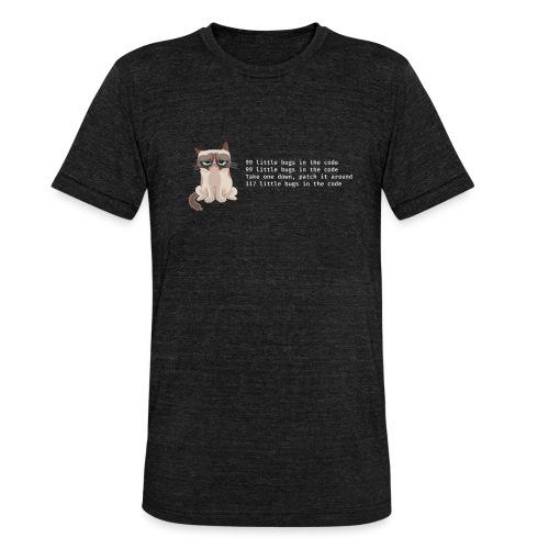 99bugs - white - Unisex tri-blend T-shirt van Bella + Canvas