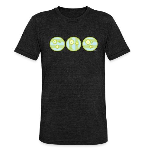 Smile multi4 - Unisex tri-blend T-shirt van Bella + Canvas