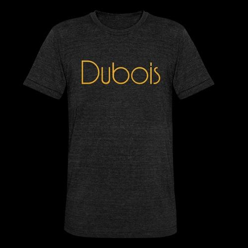 Dubois - Unisex tri-blend T-shirt van Bella + Canvas