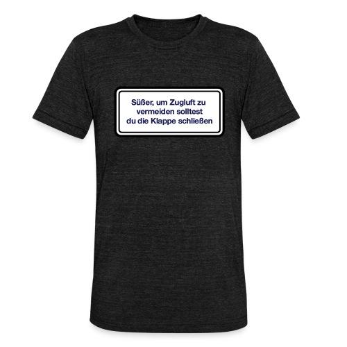 zugluft_er - Unisex Tri-Blend T-Shirt von Bella + Canvas