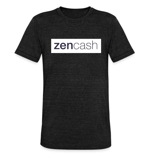 ZenCash CMYK_Horiz - Full - Unisex Tri-Blend T-Shirt by Bella & Canvas