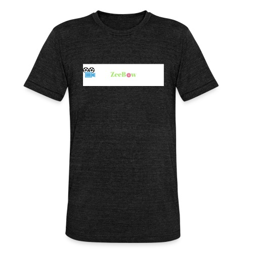 T-Shirt - Unisex tri-blend T-shirt fra Bella + Canvas