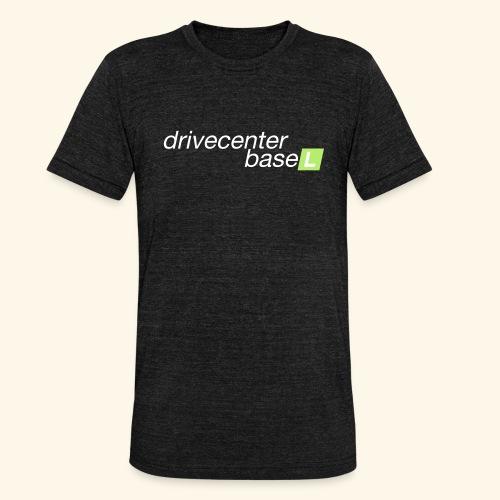 drive center logo - Unisex Tri-Blend T-Shirt von Bella + Canvas