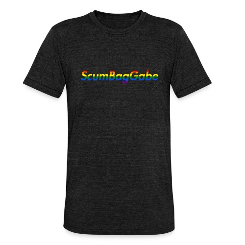 ScumBagGabe Multi Logo XL - Unisex Tri-Blend T-Shirt by Bella & Canvas