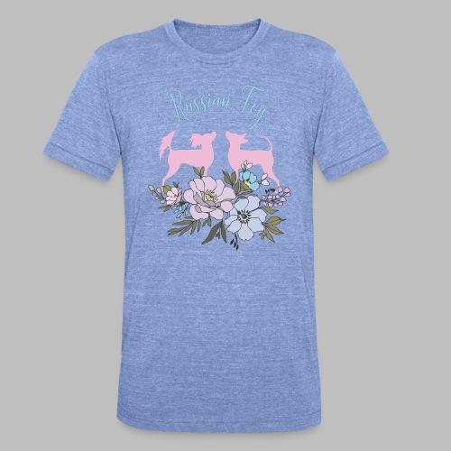 kukkakangas yhdessa2 - Bella + Canvasin unisex Tri-Blend t-paita.