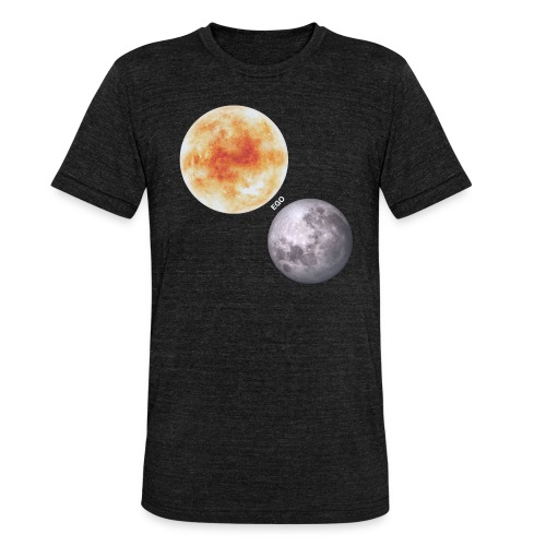 Ego - Camiseta Tri-Blend unisex de Bella + Canvas