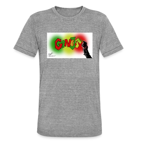 Ganja - Unisex tri-blend T-shirt fra Bella + Canvas