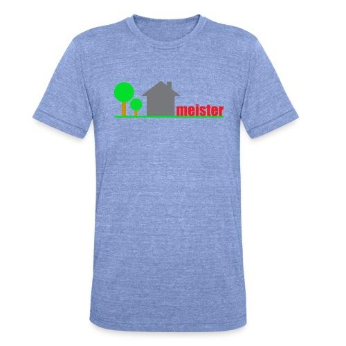 Hausmeister - Unisex Tri-Blend T-Shirt von Bella + Canvas