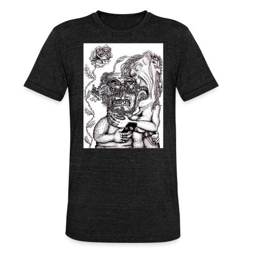 Piercat par - Triblend-T-shirt unisex från Bella + Canvas