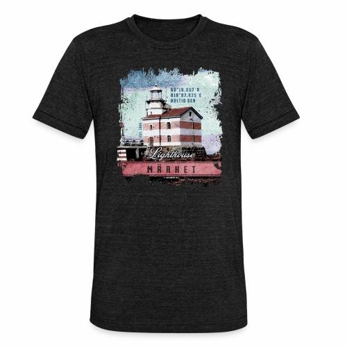 Märket majakkatuotteet, Finland Lighthouse, väri - Bella + Canvasin unisex Tri-Blend t-paita.