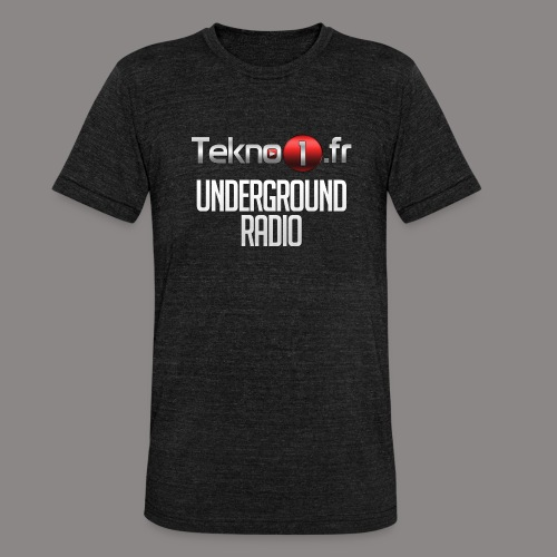 logo tekno1 2000x2000 - T-shirt chiné Bella + Canvas Unisexe