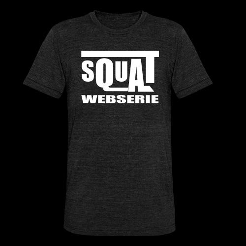 SQUAT WEBSERIE - T-shirt chiné Bella + Canvas Unisexe