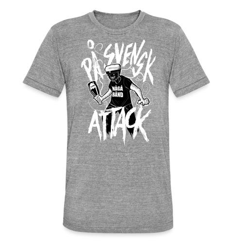 På Svenska Tack - Unisex Tri-Blend T-Shirt by Bella + Canvas