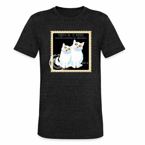 timbre usa - T-shirt chiné Bella + Canvas Unisexe