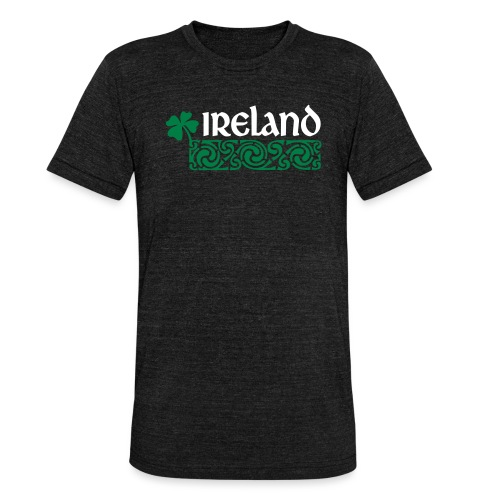 Ireland - Unisex tri-blend T-shirt van Bella + Canvas
