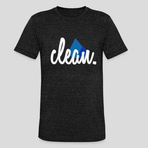 boostapparel design - clean car - Unisex Tri-Blend T-Shirt von Bella + Canvas