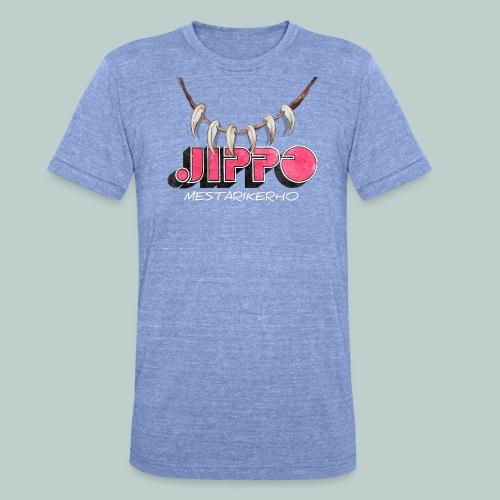 jippomestari_pink - Bella + Canvasin unisex Tri-Blend t-paita.