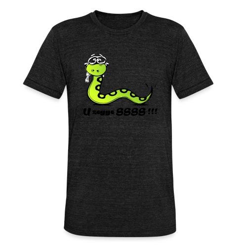 U zegge SSSS !!! - Unisex tri-blend T-shirt van Bella + Canvas
