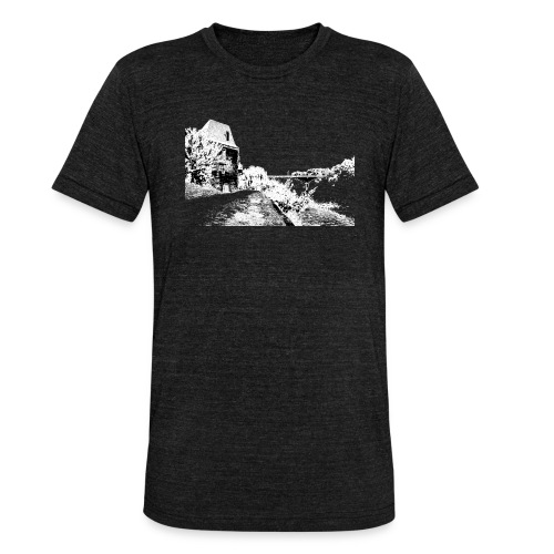 J'aime Mouleydier - Pont F - T-shirt chiné Bella + Canvas Unisexe