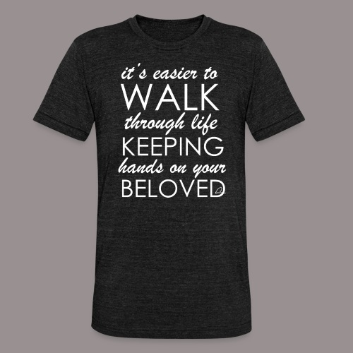 Rakkaus - Bella + Canvasin unisex Tri-Blend t-paita.