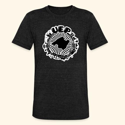 UEP white background - Unisex Tri-Blend T-Shirt by Bella & Canvas