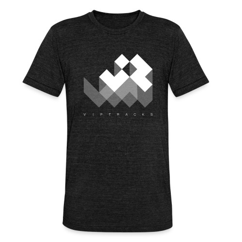 LOGO VIPTRACKS RELEASES - Unisex tri-blend T-shirt van Bella + Canvas